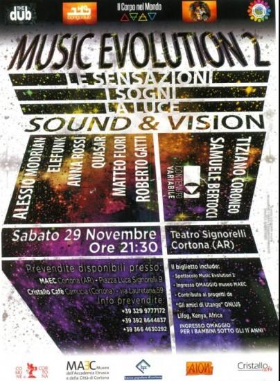 Music Evolution 2 a Cortona