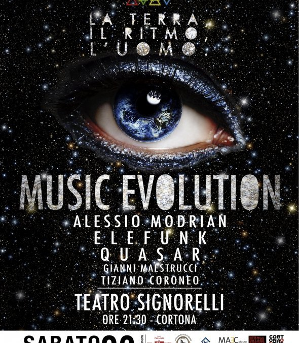 """Music Evolution"" al Teatro Signorelli"