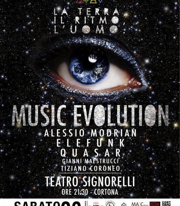"""""""Music Evolution"""" al Teatro Signorelli"""