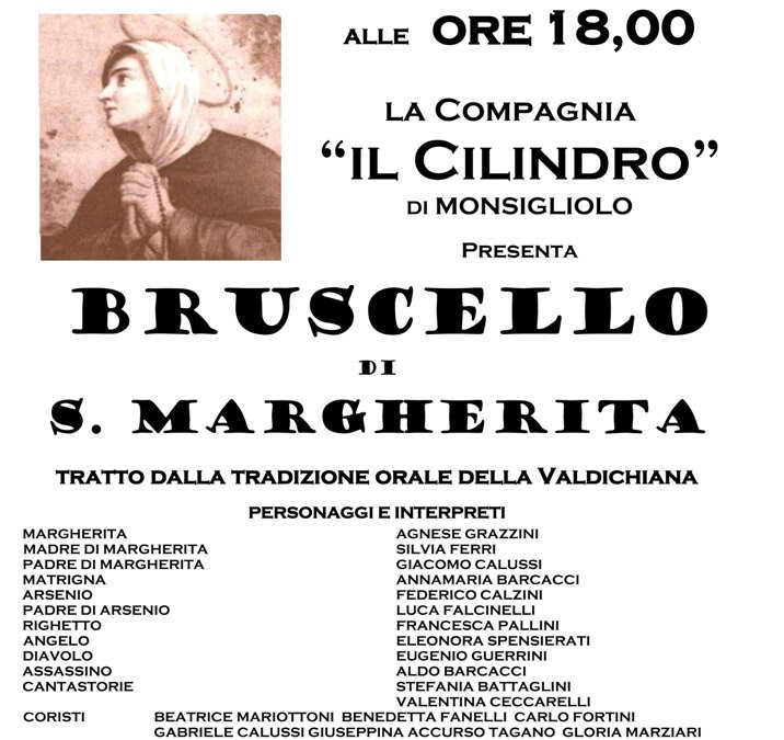 """""""Bruscello di Santa Margherita"""" all'Abbazia di Farneta"""