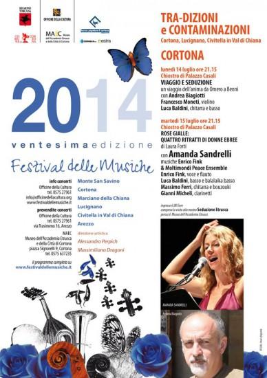 Festival delle Musiche 2014 a Cortona