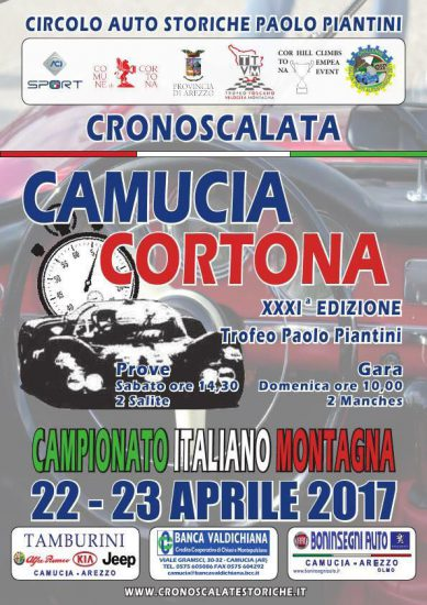 Cronoscalata Camucia-Cortona 2017