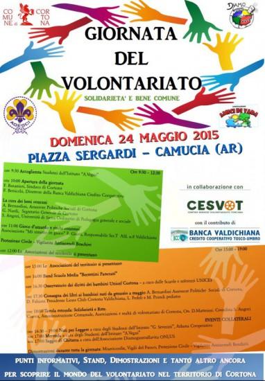 Giornata del Volontariato a Camucia