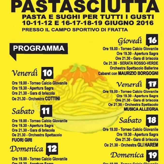 Sagra della Pastasciutta a Fratta di Cortona