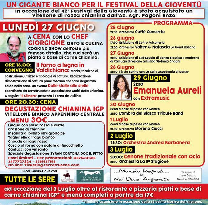 Festival della Gioventù a Monsigliolo