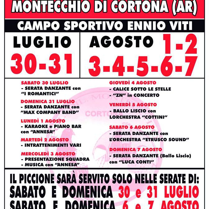 Sagra del Piccione a Montecchio di Cortona