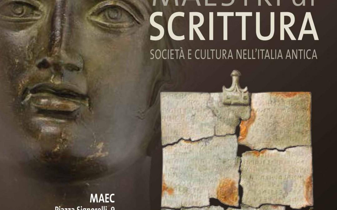"""Mostra """"Etruschi maestri di scrittura"""""""