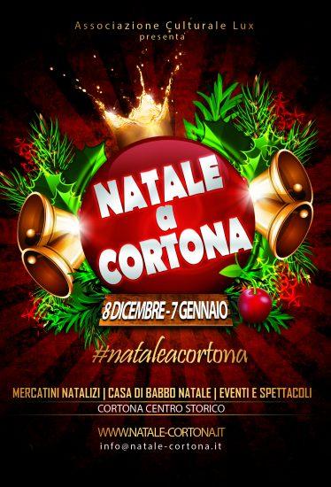Locandina di Natale a Cortona, edizione del 2017