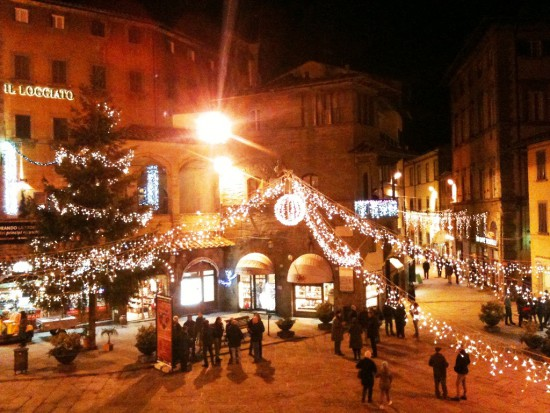 Natale a Cortona