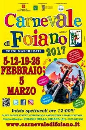Carnevale di Foiano 2017