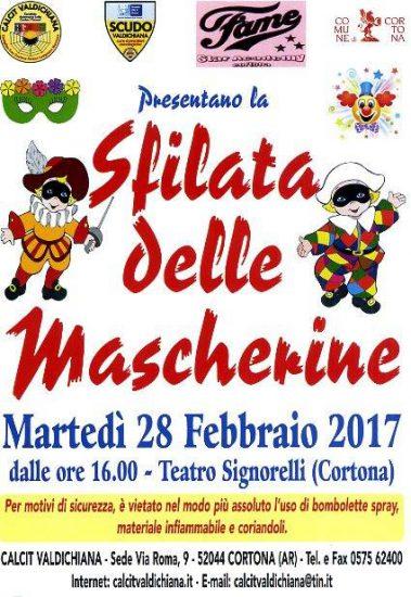 Sfilata delle Mascherine a Cortona