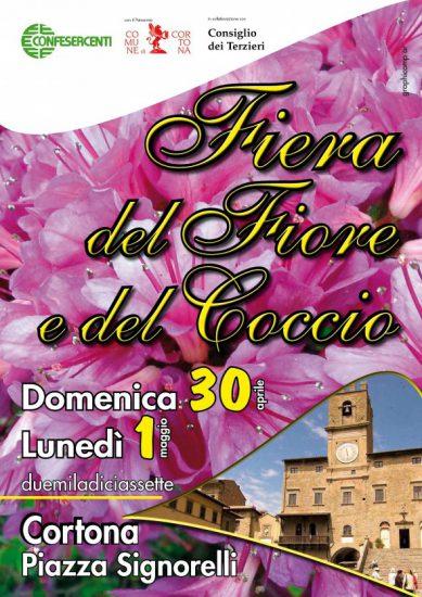 Fiera del Fiore e del Coccio a Cortona