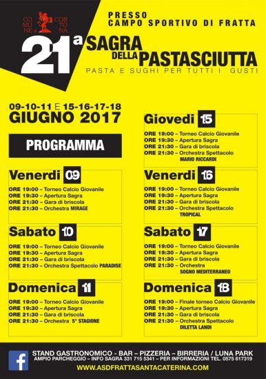 Sagra della Pastasciutta a Fratta Santa Caterina, edizione 2017