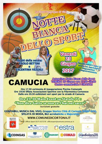 Notte Bianca dello Sport a Camucia