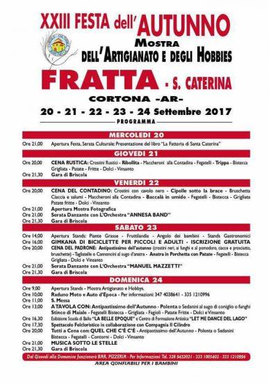Festa dell'Autunno a Fratta di Cortona