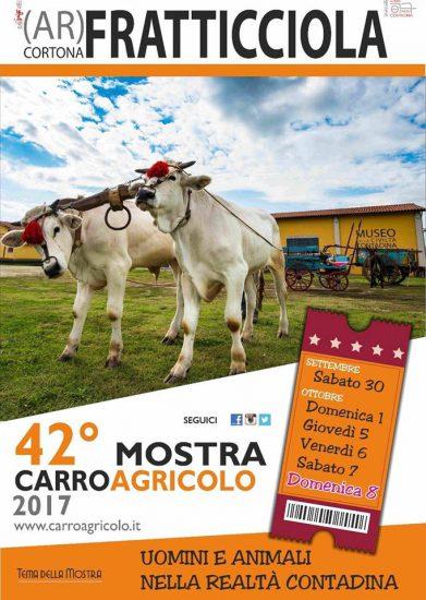 Mostra Carro Agricolo a Fratticciola di Cortona